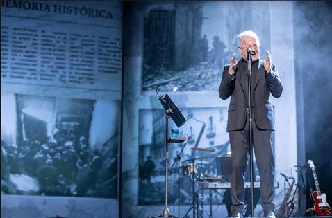 Víctor Manuel, vuelve para cantarlo, al Teatro Chapí de Villena