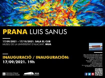 El MUA inaugura la primera exposició del nou curs acadèmic: 'Prana. Luis Sanus'