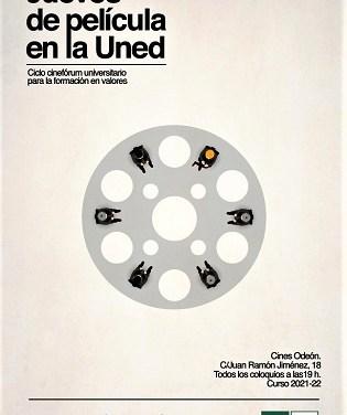 Cultura de Elche apuesta por la formación en valores con el cinefórum en los Odeón 'Jueves de película en la UNED'