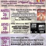 """Este martes se presentará el cómic """"Miguel Hernández, piedra viva"""", de Román López Cabrera, en la Biblioteca Pública María Moliner de Orihuela"""