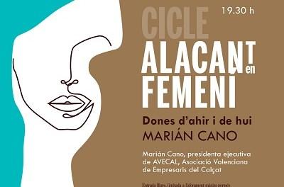 L'Institut de Cultura Gil-Albert organitza la tercera sessió de 'Alacant en femení' dedicada a Marián Cano