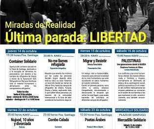 """""""Última parada: LIBERTAD"""". El cicle a Villena """"Mirades de Realitat"""" afronta el problema dels refugiats"""