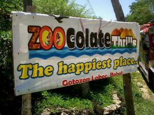 The zoocolate thrills theme park loboc bohol philippines