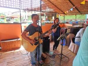 Floating restaurant loboc riverwatch bohol live band