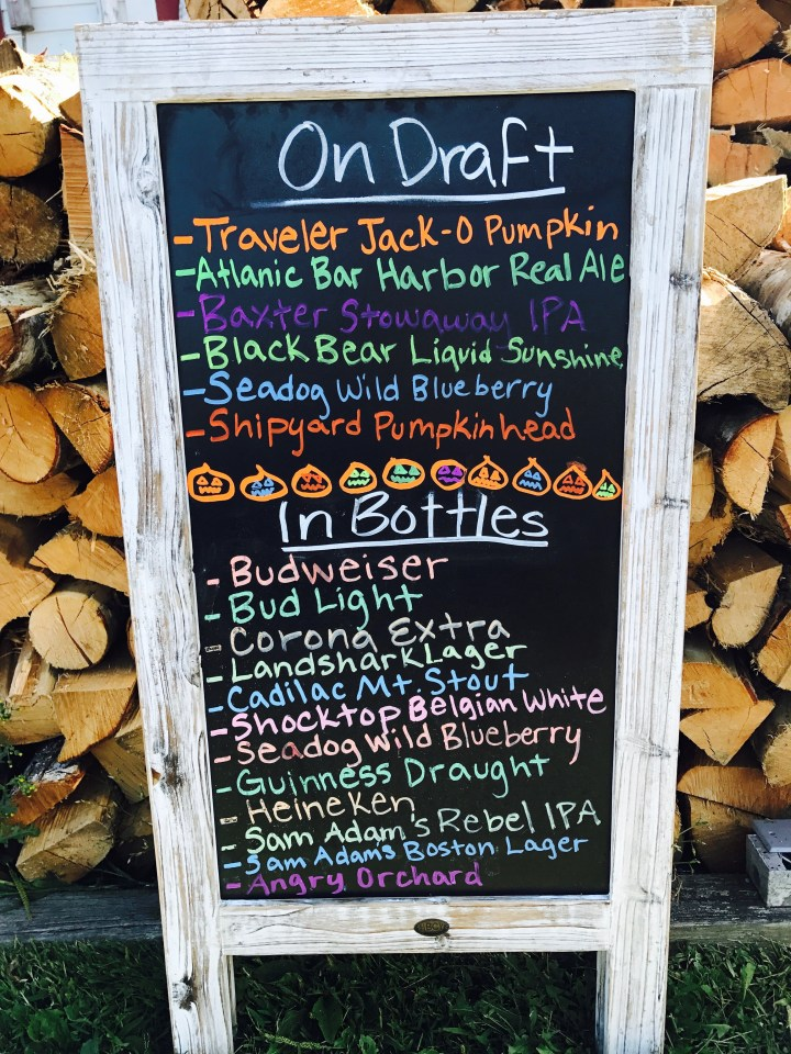 Seasonal brews and specials!