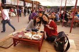 at Korean Folk Village