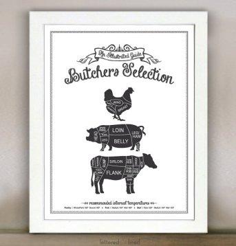 Butchers selection