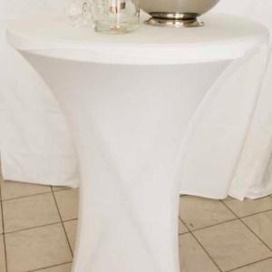 Table Haute Guéridon -loca-vaisselle Location de vaisselle - matériel de réception