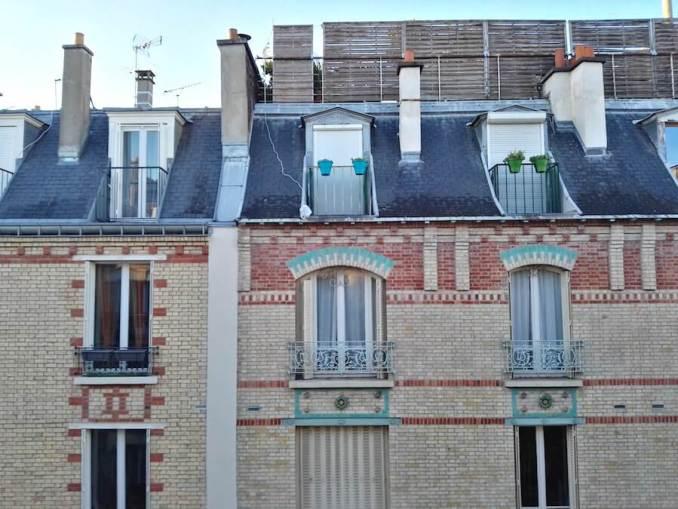 Vistas desde nuestro apartamento en París