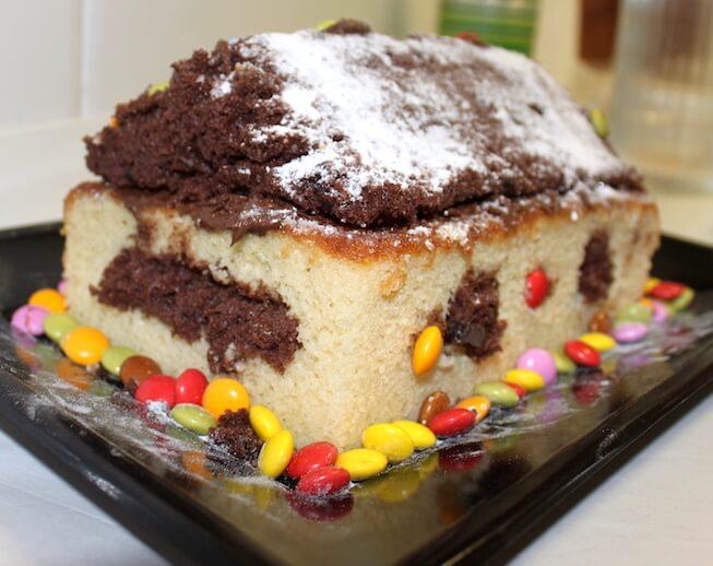 como hacer un pastel con niños 4