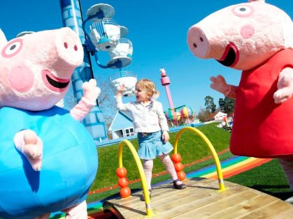 Peppa Pig World at Paulton Park 2011