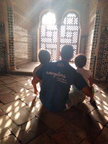 granada con niños alhambra