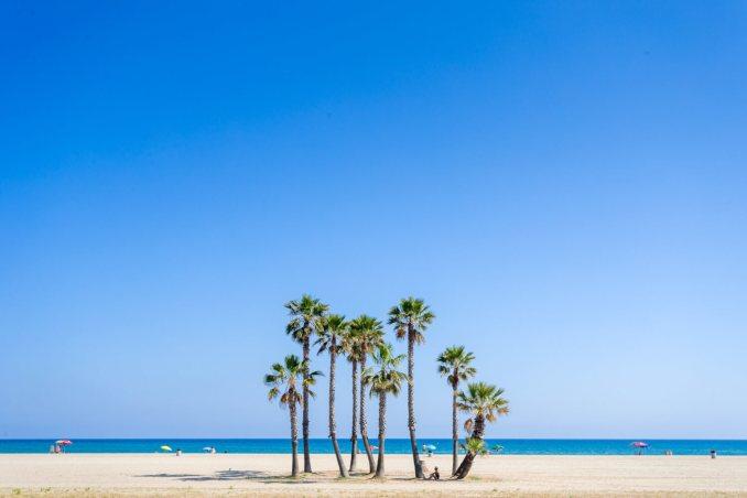 costa daurada Playa comaruga