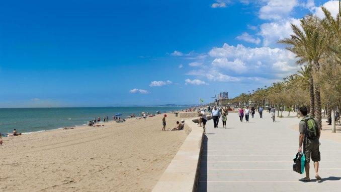 Costa Daurada Calafell playa
