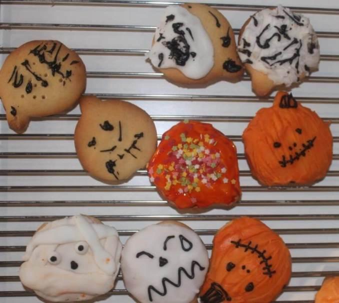 galletas halloween en casa
