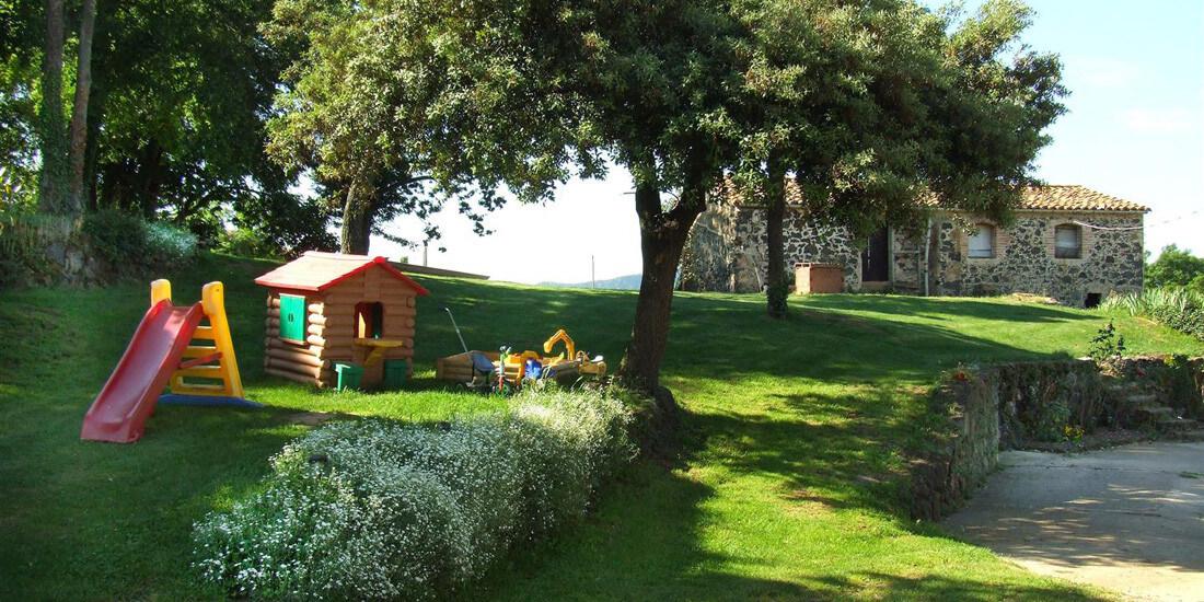 casamitjana casa rural niños