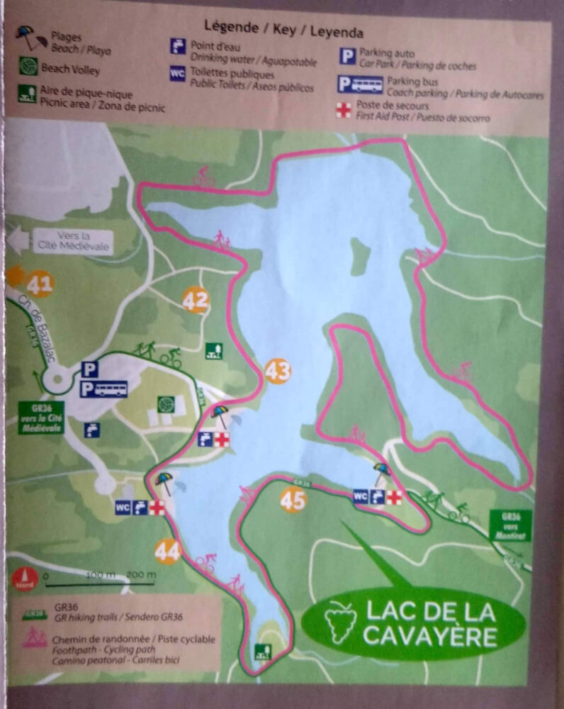 lac cavayere mapa