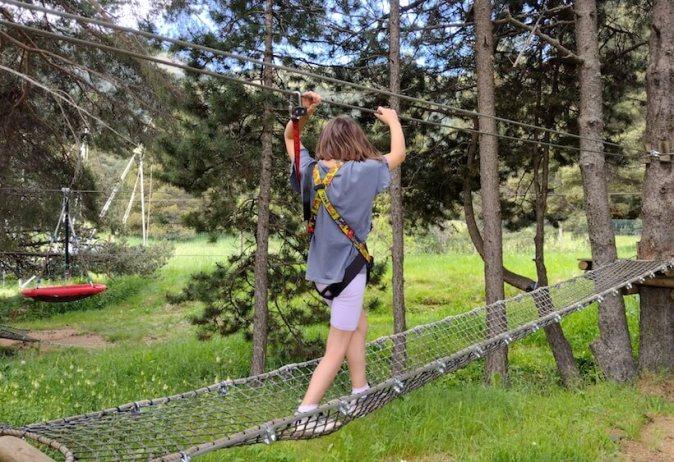la molina parc aventura amb nens 3
