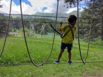 la molina parc aventura amb nens 4