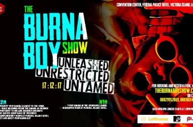 Burna Boy Unveils Concert [The Burnaboy Show]