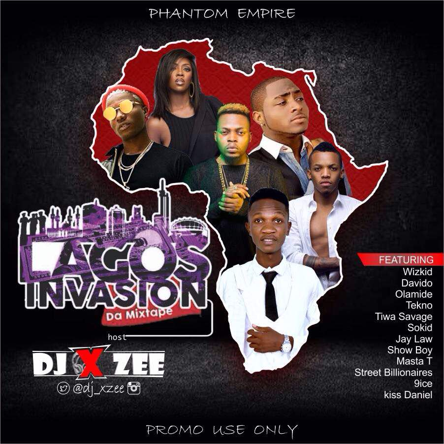 DJ Xzee - Lagos Invasion Mixtape