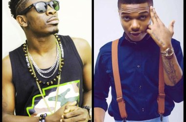 Wizkid Shades Shatta Wale Upon Arrival In Ghana