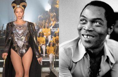 Beyonce Honours Fela During Coachella Performance