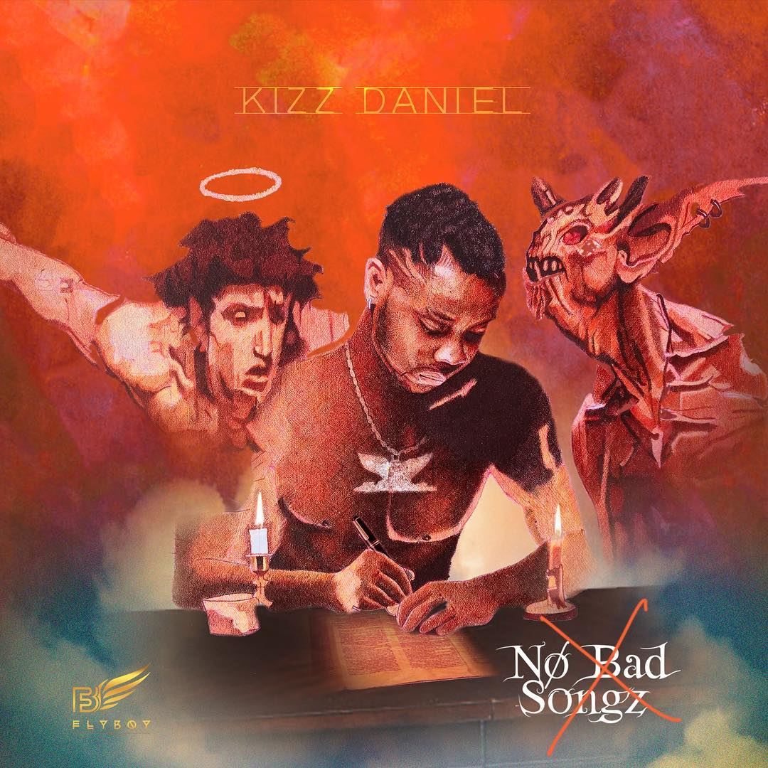 "Kizz Daniel Unveils Artwork For ""No Bad Songz"" Album"