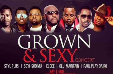 Grown and Sexy Concert