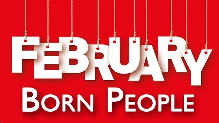February Born Artistes!