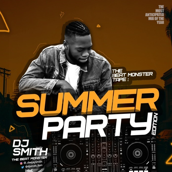 The Beat Monster Tape: Sumer Party By DJ Smith