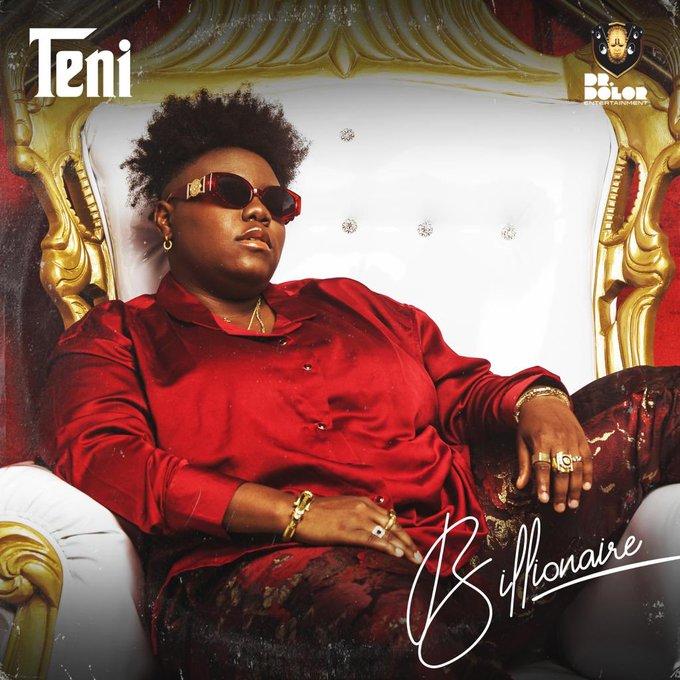 Teni Unveils Cover Art & Release Date For Billionaire EP