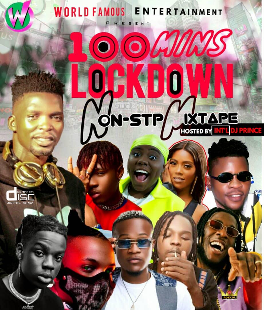 Int'l DJ Prince – 100min Lock Down Mix