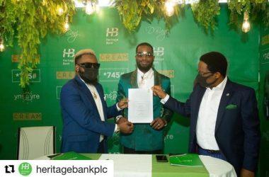 Dbanj-heritage-Bank
