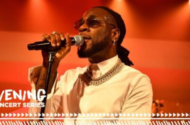 Burna Boy Performs At The ESSENCE Festival of Culture