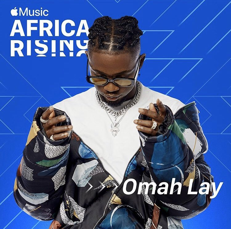 Omah Lay is Apple Music Debut Africa Rising Star