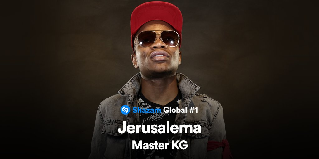 """Master KG's """"Jerusalema"""" Most Shazamed Song in the World"""