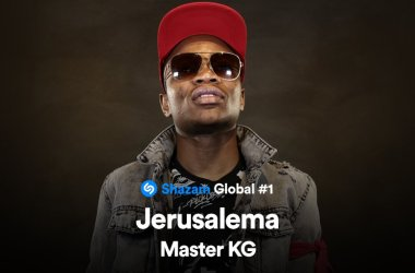 "Master KG's ""Jerusalema"" Most Shazamed Song in the World"