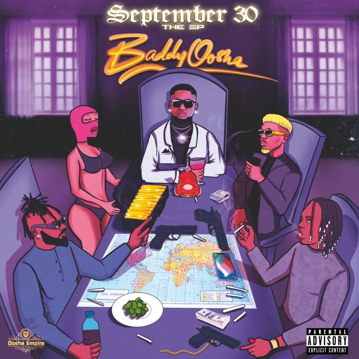 """Baddy Oosha – """"September 30"""" EP"""