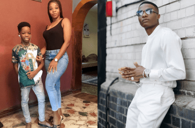 Wizkid Gifts First Son Boluwatife PS5