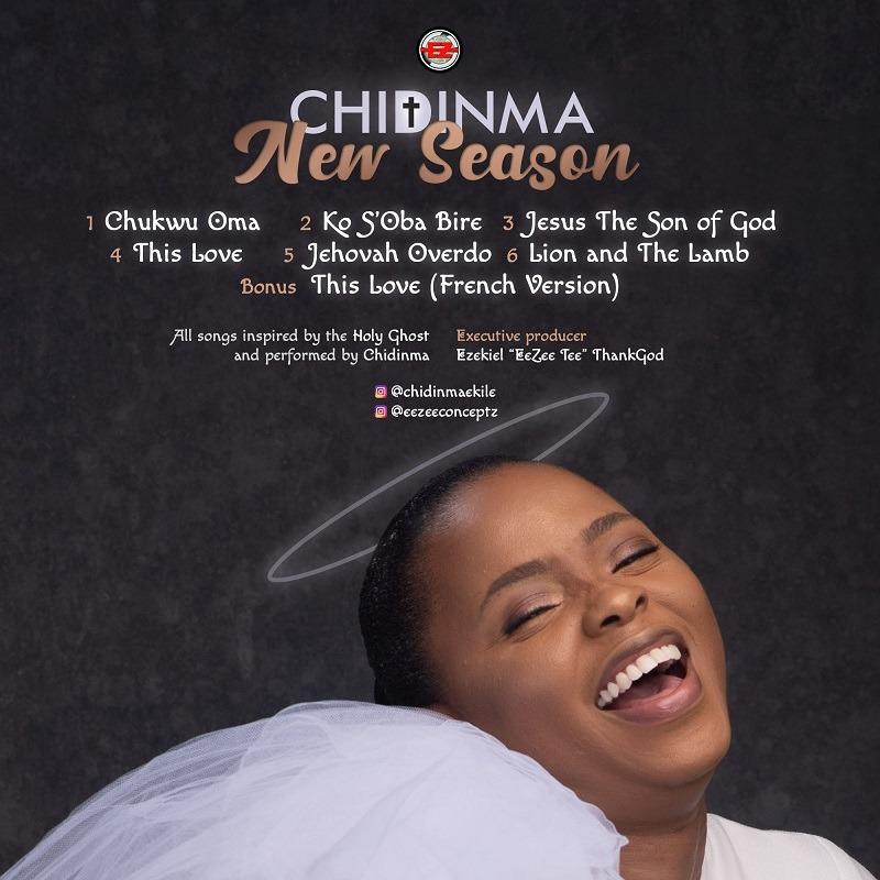 "Chidinma ""New Season"" EP - Tracklist"