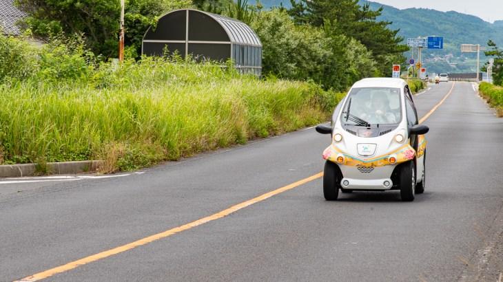 【出雲市だんだんライド】電気自動車で観光もエコに!コムスのエコな魅力