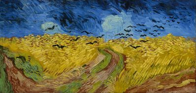Wheatfield with Crows - 1890