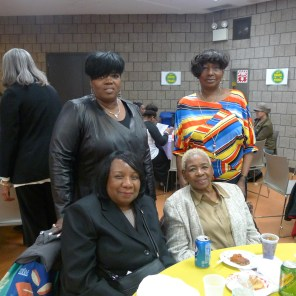 Renee Gainer with Family Members and Sheila Lewis