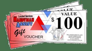 Handyman Assist Gift Vouchers