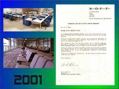 Office furniture fitting 2001