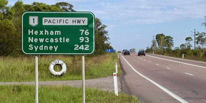 Positioning... Pacific Highway