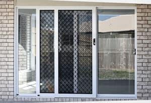 Sliding glass and flyscreen doorsdoors