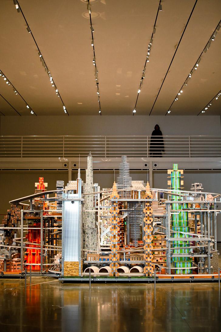 LA Museum | LA CMA Modern Art Cityscape