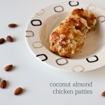Paleo Recipe | Coconut Almond Chicken Patties